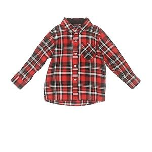 NWT Andy & Evan Red Check Button Down Shirt